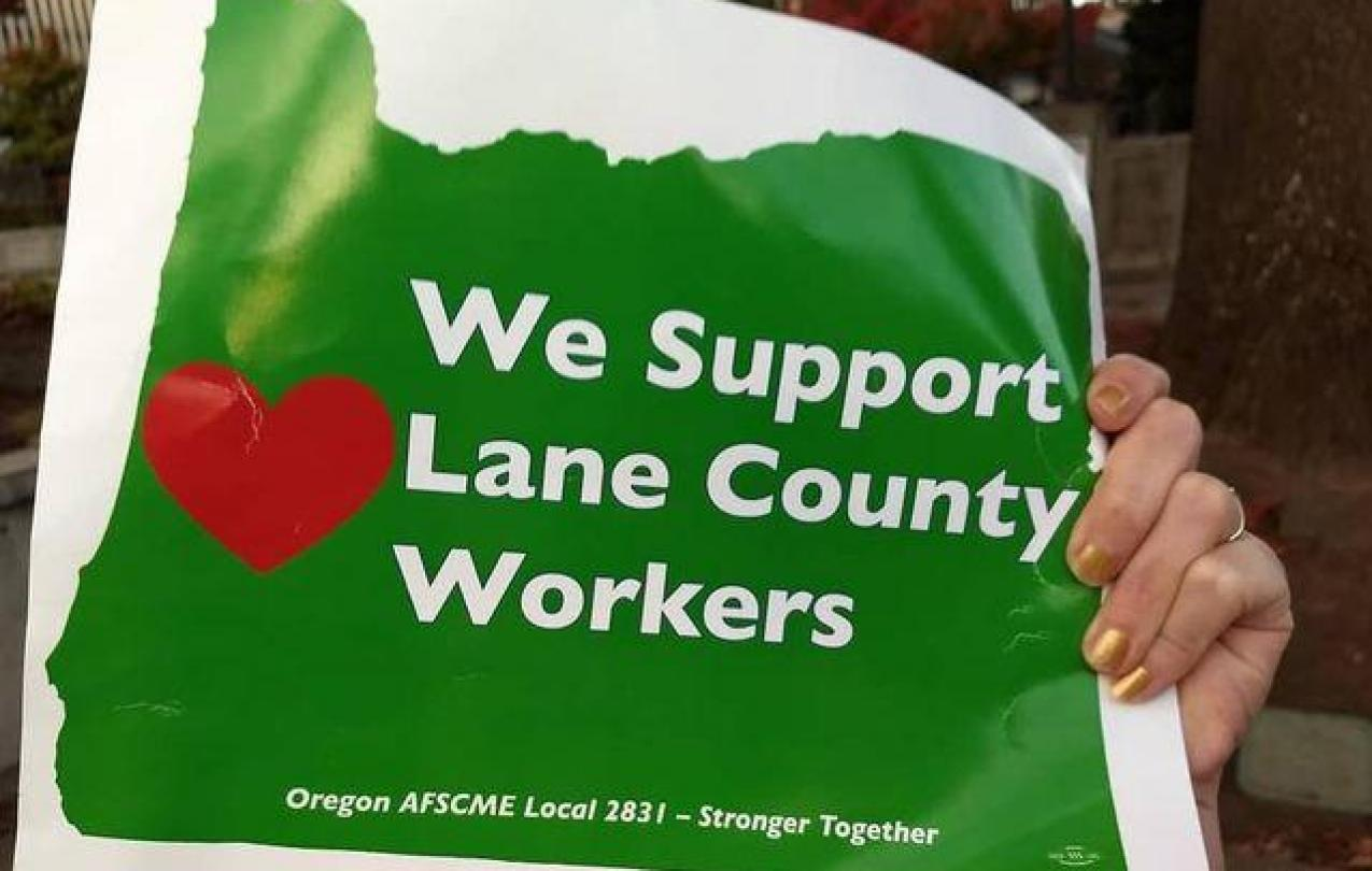 We Support Lane Co Workers